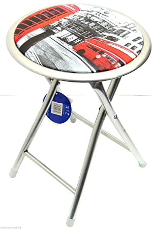 Crafts Pliant Chaise Artamp; Tabouret Hobby Motif London XOukPZi