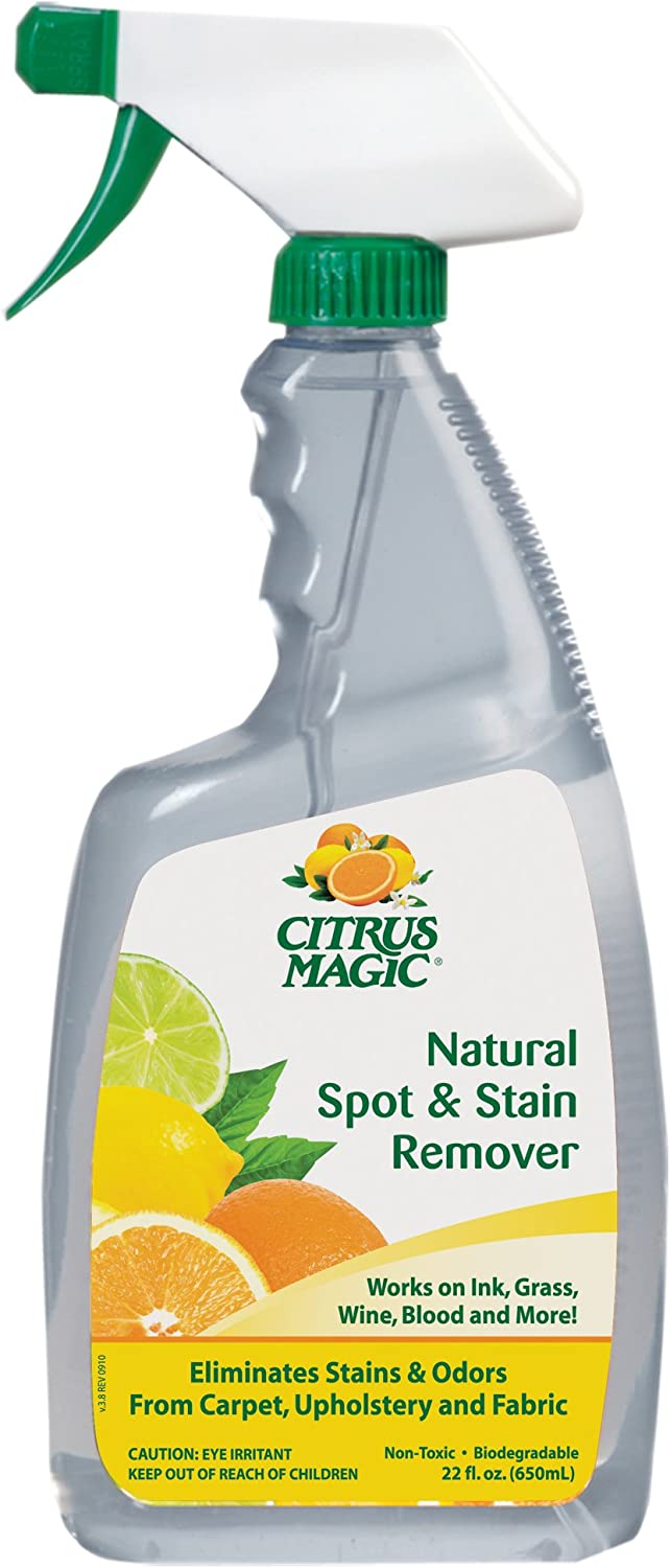 Citrus Magic Instant Spot and Stain Remover, 22-Ounce