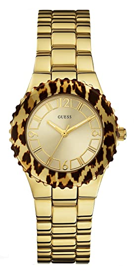 Guess - Wristwatch, Quartz Analog, Stainless Steel, Women