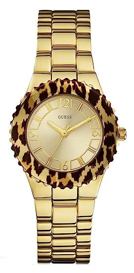Guess Reloj Analogico para Mujer de Cuarzo con Correa en Acero Inoxidable W0404L1: Amazon.es: Relojes