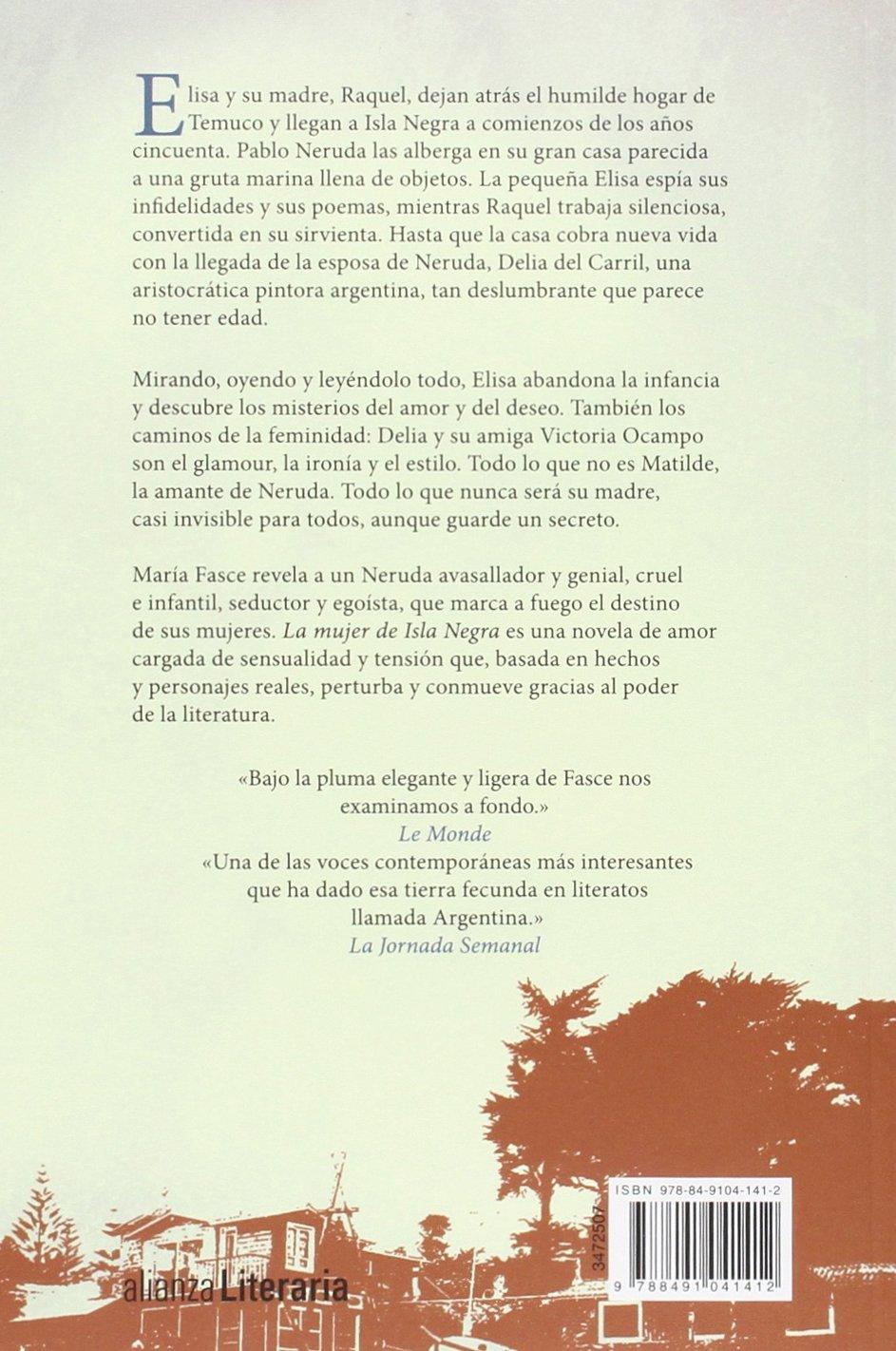 La mujer de Isla Negra (Alianza Literaria (Al)): Amazon.es: María Fasce Ferri: Libros