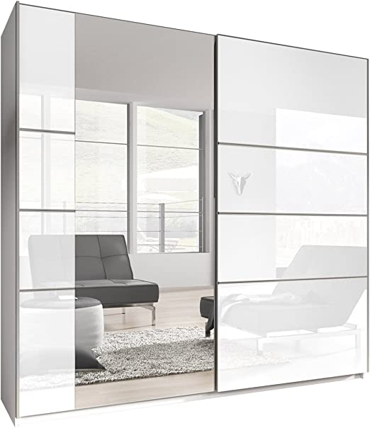 mirjan24 Armario Bora VI, elegante Dormitorio Armario, para armario de puertas correderas, Dormitorio Juvenil, Puerta corredera: Amazon.es: Juguetes y juegos