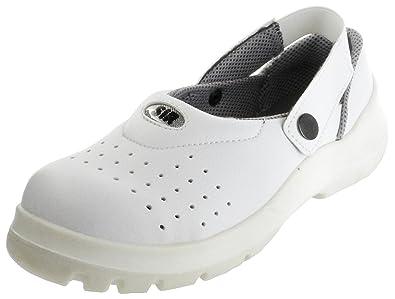 Sir Sicherheitspantoletten Weiß SB EAFO Herren Arbeits-Schutz-Schuhe 26051-401 Neo Gaia