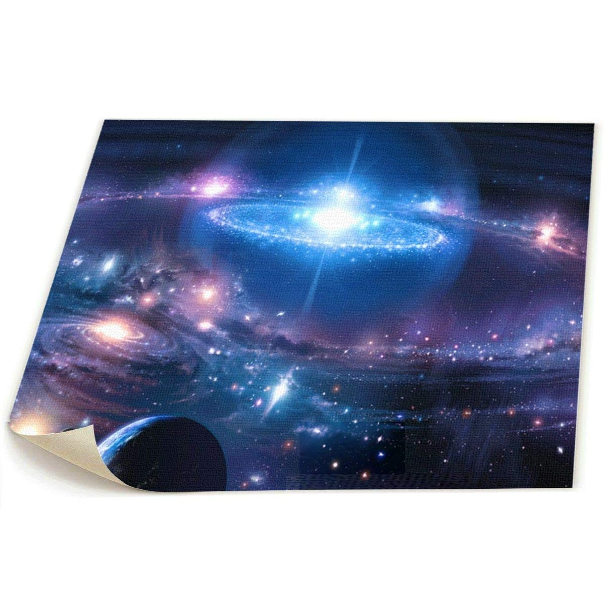 Amazon Com Lqz Paint Universe Space Galaxy Planets Canvas Wall Art