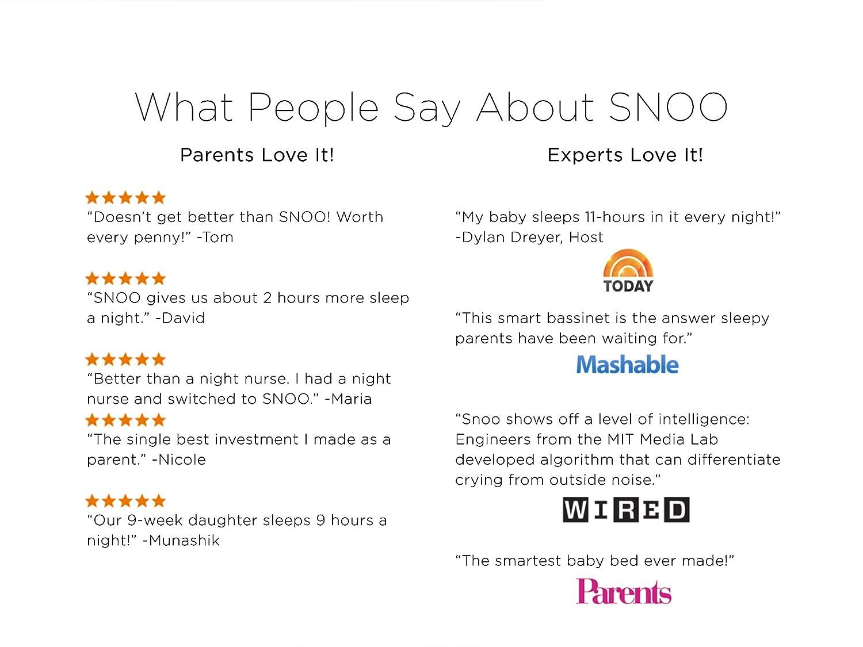 SNOO Smart Sleeper by Happiest Baby
