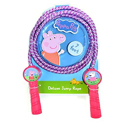 Amazon.com: KidPlay Products Peppa Pig Girls Deluxe Jump ...