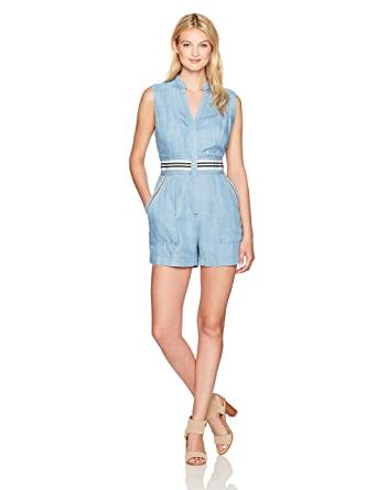 b5c3566c2aae Amazon.com  Plenty by Tracy Reese Women s Romper  Clothing