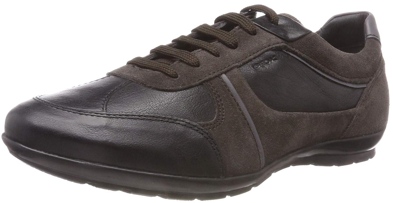 TALLA 39 EU. Geox Uomo Symbol A, Zapatos de Cordones Oxford para Hombre