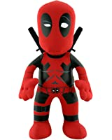 "Bleacher Creatures Marvel 10"" Plush Figure Deadpool with Swords Red E-com"