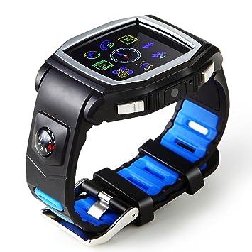 GPS Tracker kingwear R2 Sport Smart reloj teléfono para iphone 5S/6/6S muñeca Android iOS reloj inteligente: Amazon.es: Electrónica