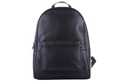 182bb8b719cd Image Unavailable. Image not available for. Colour  Armani Jeans men s  leather rucksack backpack ...