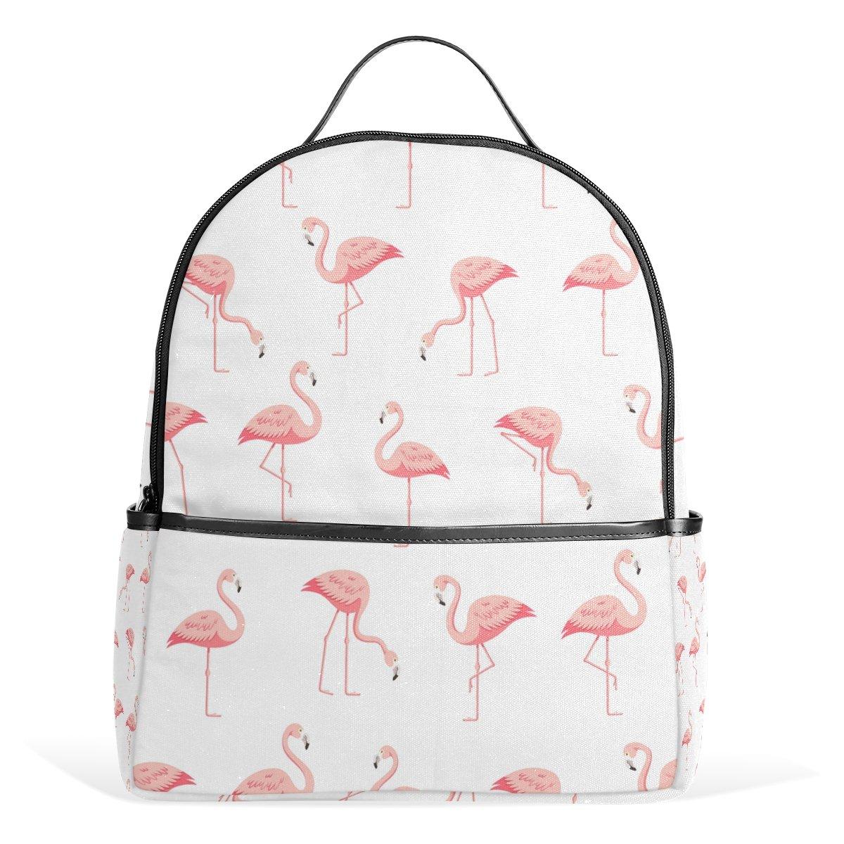 JSTEL Flamingo White School Backpack 4th 5th 6th Grade for Boys Teen Girls  Kids  Amazon.co.uk  Clothing 8c543bea61310