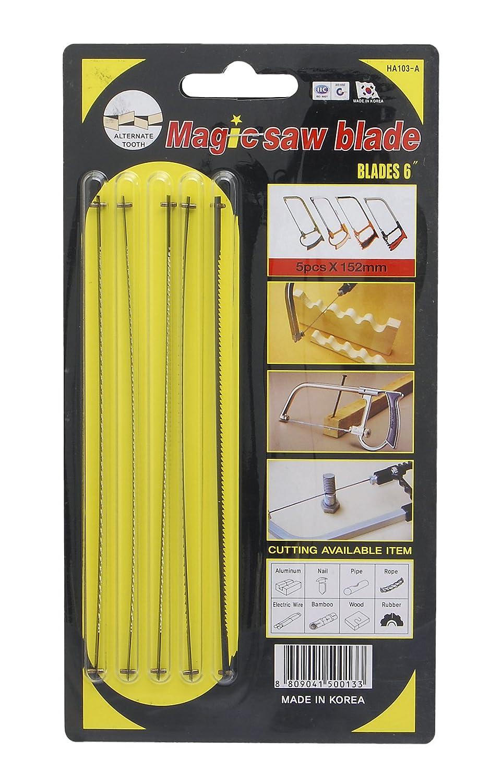 Magic Tools HA-103A Kit de 5 lames de scie