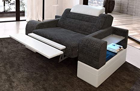 Sofa Dreams Sillón Tapizado Parma con Reposacabezas: Amazon ...