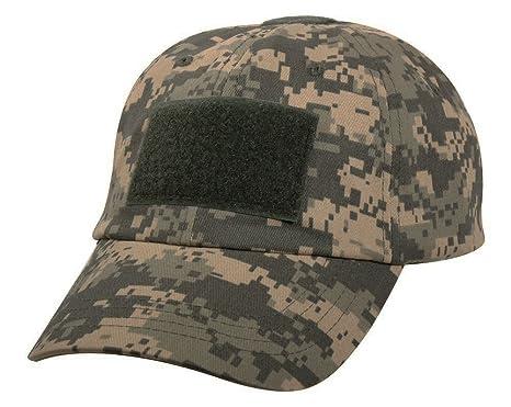 acu camo baseball cap digital operator tactical patch hat
