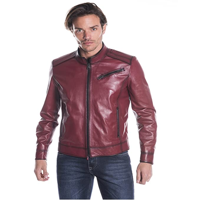 sale retailer 987a6 adc70 IPARELD Giacca in Pelle - Uomo - MOD. B4057 - Colore ...