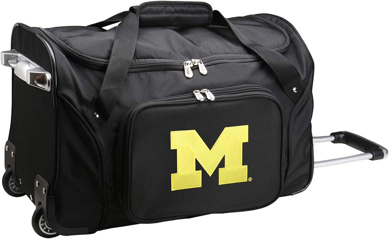 NCAA Wheeled Duffel Bag 22-inches