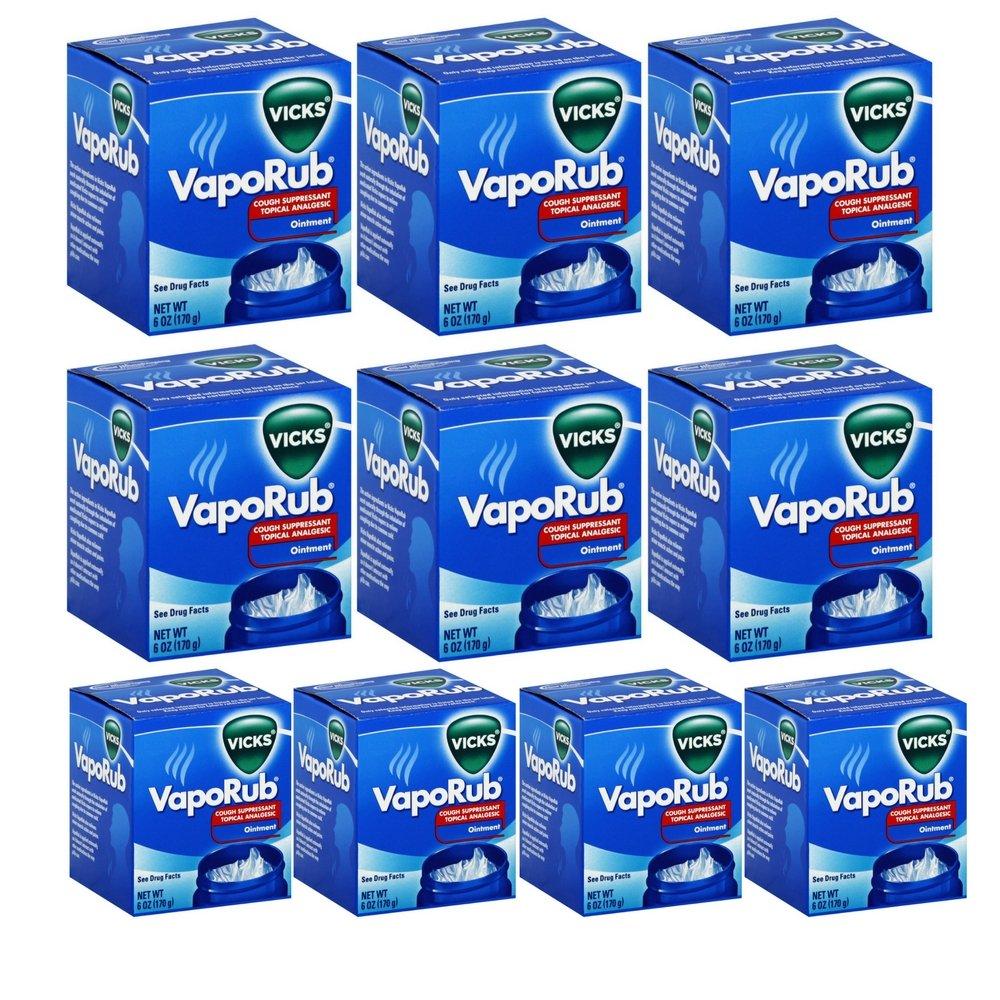 Vicks VapoRub- 6 oz jar (10 pack)