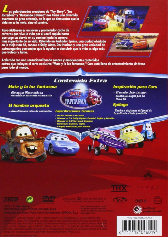 Pack: Cars + Cars 2 [DVD]: Amazon.es: Dibujos Animados, John Lasseter, Dibujos Animados, Darla K. Anderson: Cine y Series TV