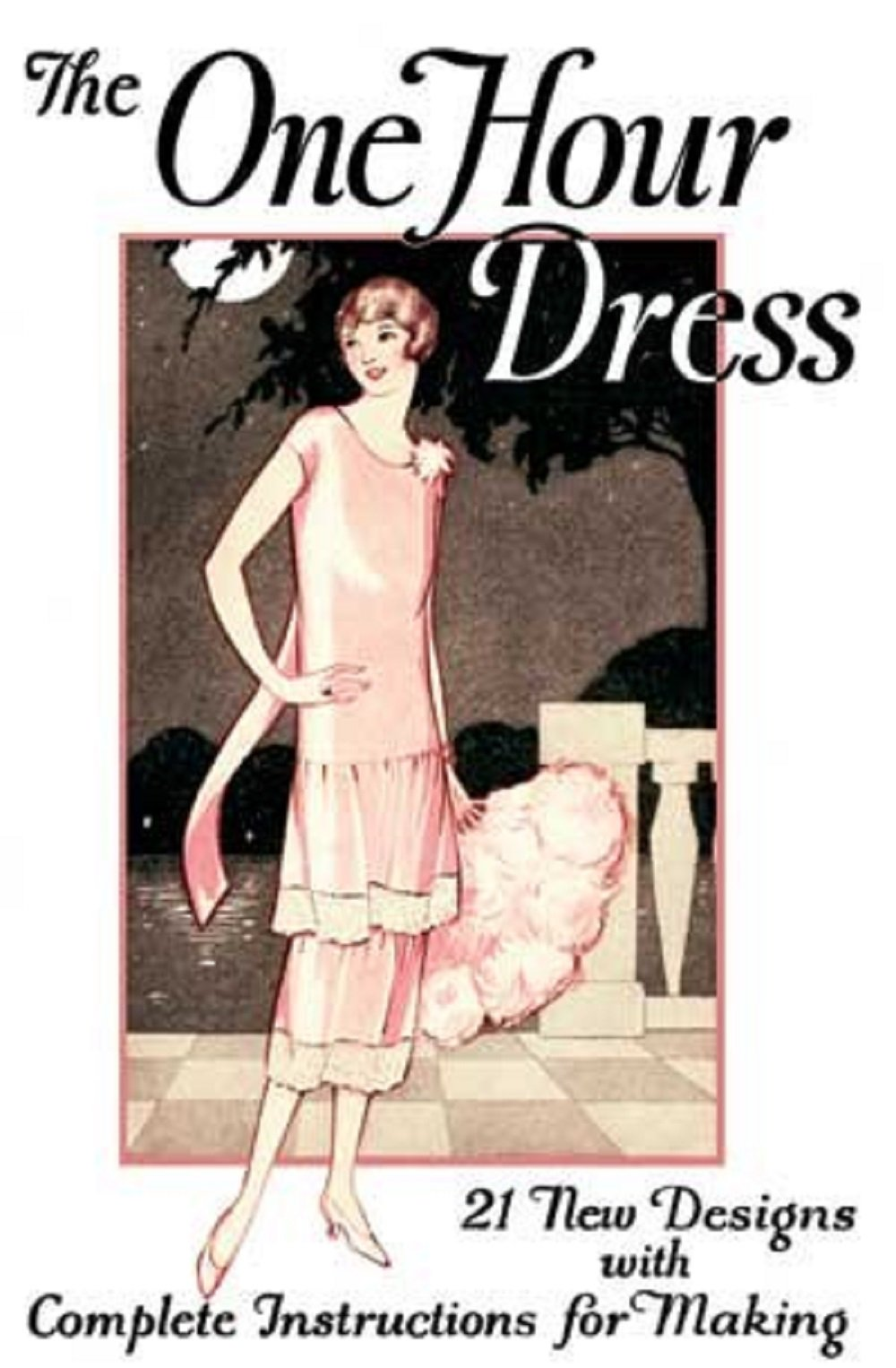 1924 Woman/'s Institute - Sewing w//o Pattern 1920/'s One Hour Dress Book CD