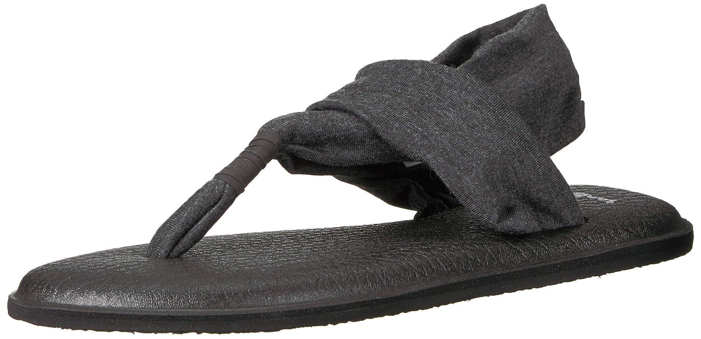 Sanuk Womens Yoga Sling 2 Sandal Charcoal 07 M US