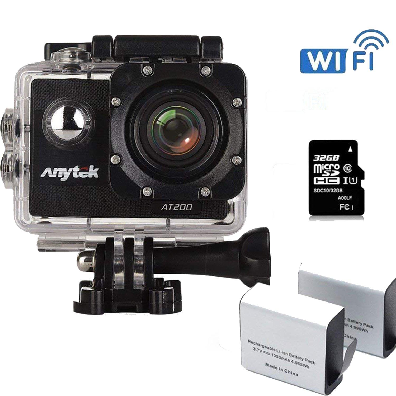 Anytekスポーツカメラアクションカメラ 4332021259  1080P 30FPS B06XQBJ6R3