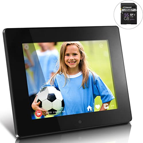 Nixplay Seed 10 Inch WiFi Digital Picture Frame – Share Moments Instantly via App or E-Mail