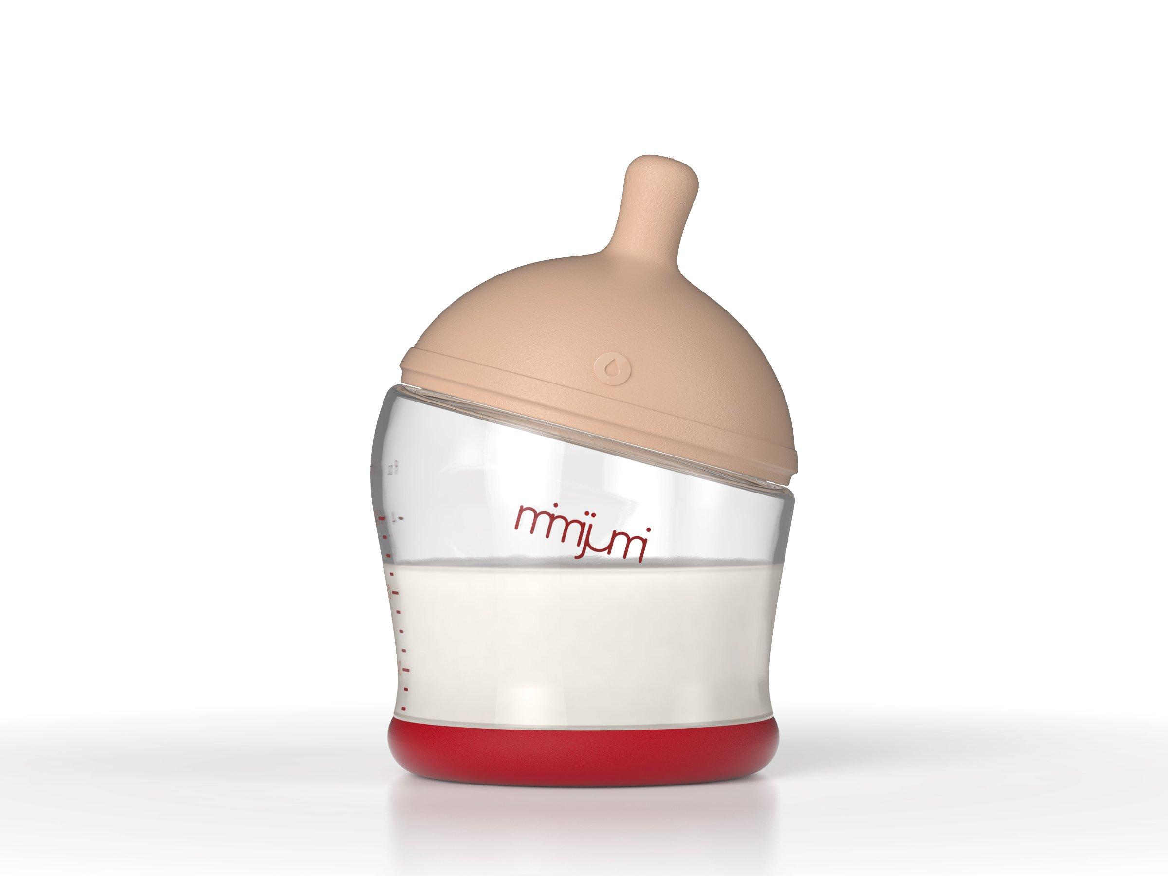 mimijumi Get Going Breastfeeding Bottle Kit, Set of 4