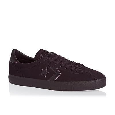 Converse Cons Break Point Mono Suede OX Black Cherry/Black Cherry   Fashion Sneakers