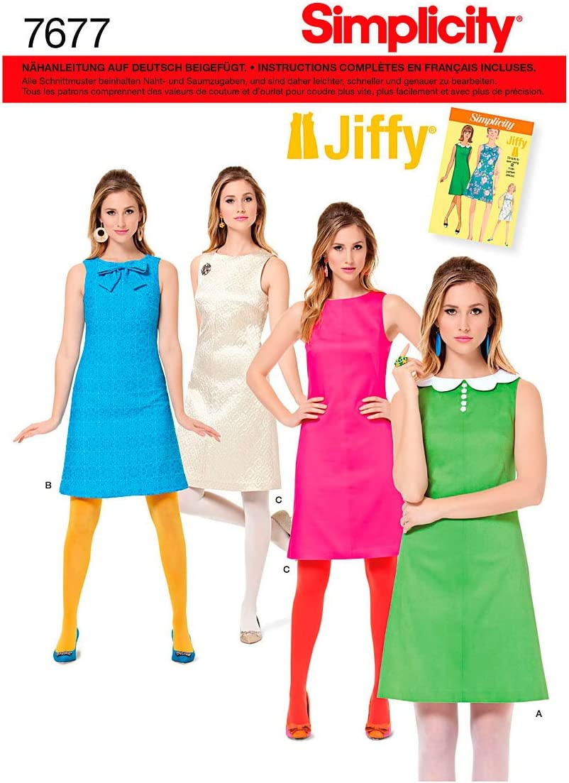 Simplicity Schnittmuster 7677.R5 Kleid