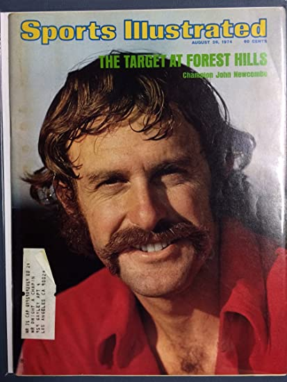 Amazon Com Sports Illustrated August 26 1974 John Newcombe Sports Collectibles