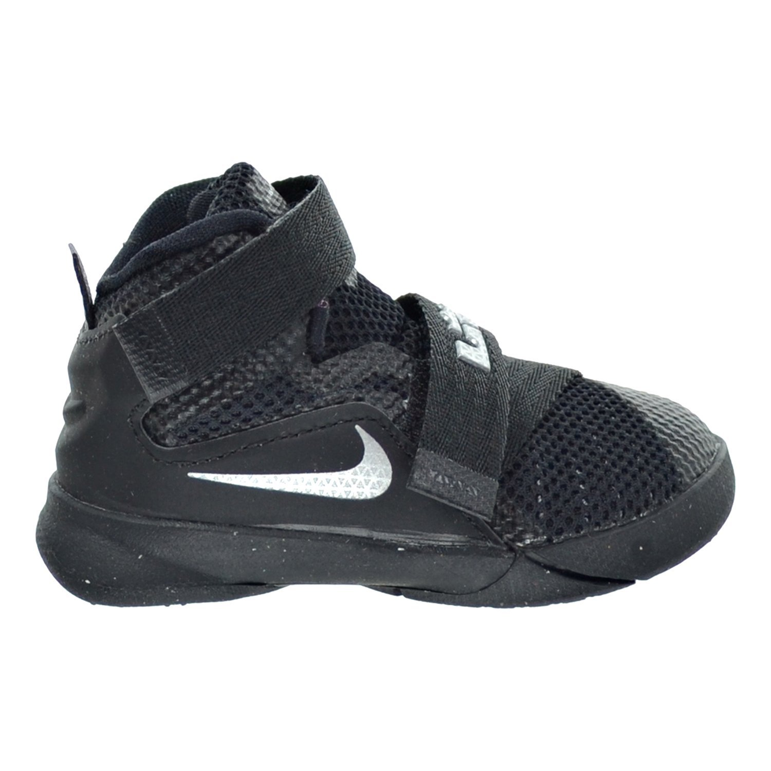 the latest 5364a cb577 Amazon.com   Nike Lebron Soldier IX (TD) Toddler s Shoes Black Metallic  Silver 776473-001 (5 M US)   Sneakers