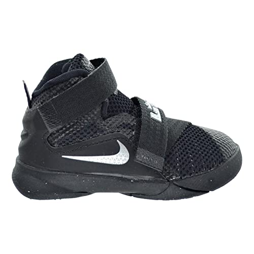 reputable site 83554 9dd5e Nike Lebron Soldier IX (TD) Toddler's Shoes Black/Metallic ...