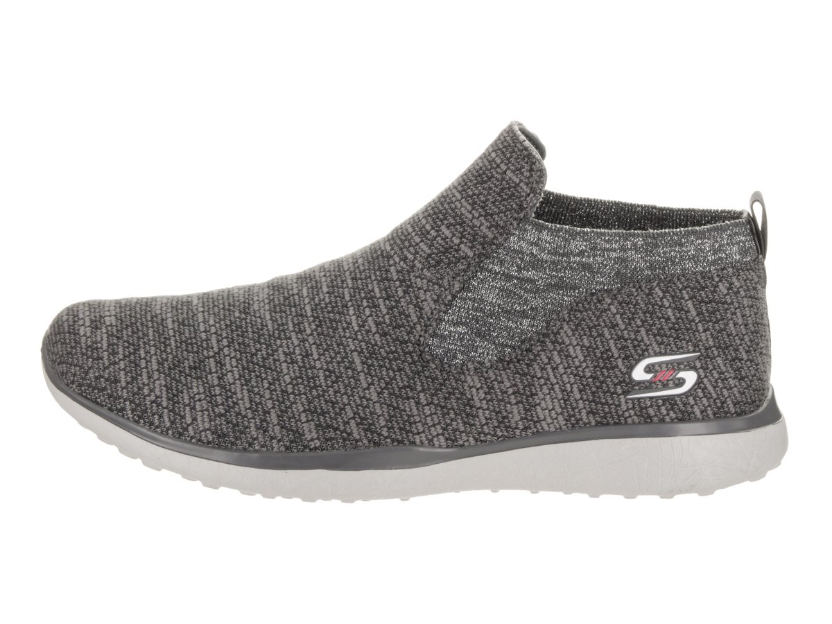 Skechers Sport Women's Microburst B(M) Supersonic Fashion Sneaker B01NBWSKUT 9 B(M) Microburst US|Charcoal abcfcc