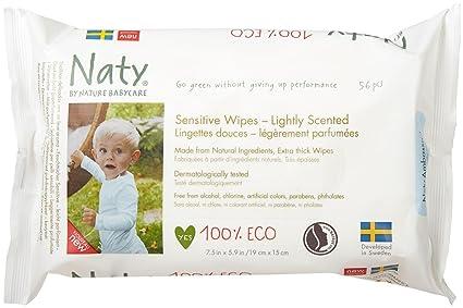 Naty 1703496031 - toallitas aromatizadas 56 uds