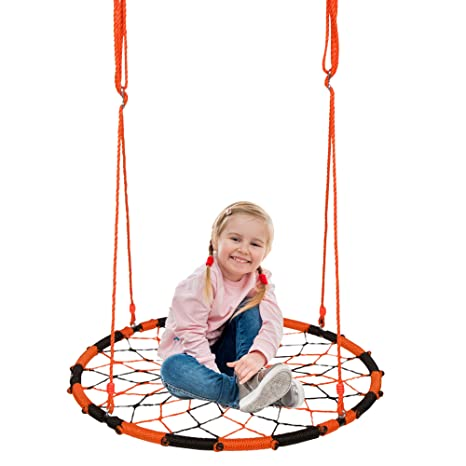 f4c937e30 Amazon.com  Orange Monkey Nest Swing