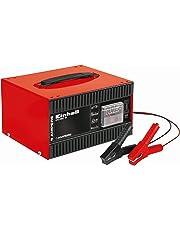 Einhell 1056121 Cargador de batería, Negro, Rojo