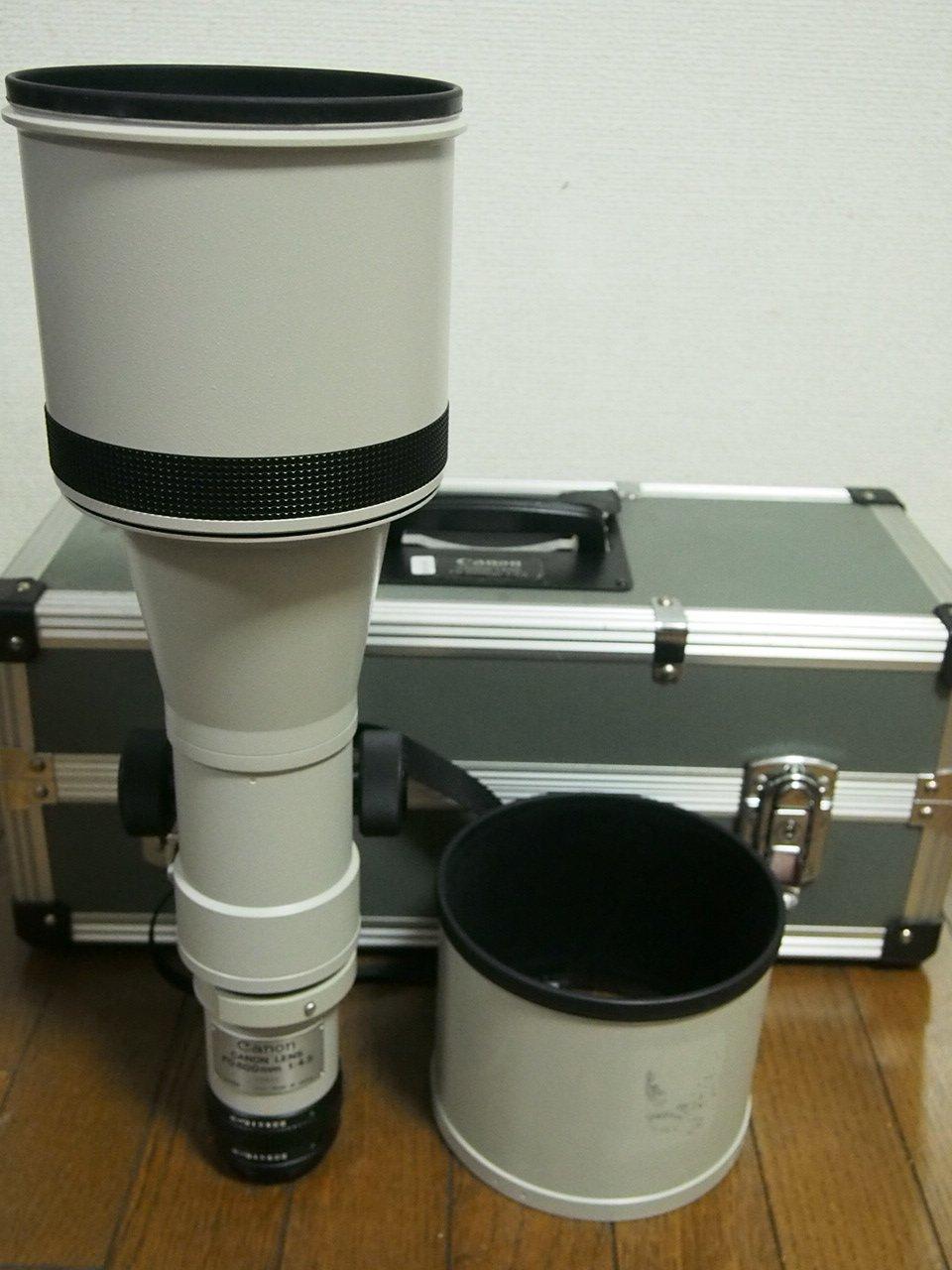 Canon MFレンズ NewFD 600mm F4.5   B00MB5B0GK