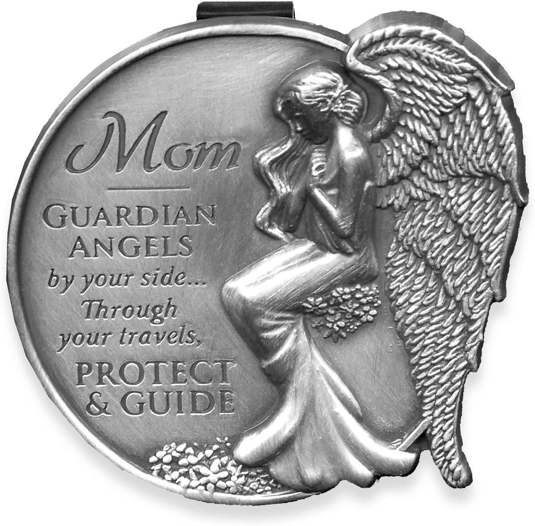 AngelStar 15729 Mom Guardian Angel Visor Clip Accent 2-1//2-Inch