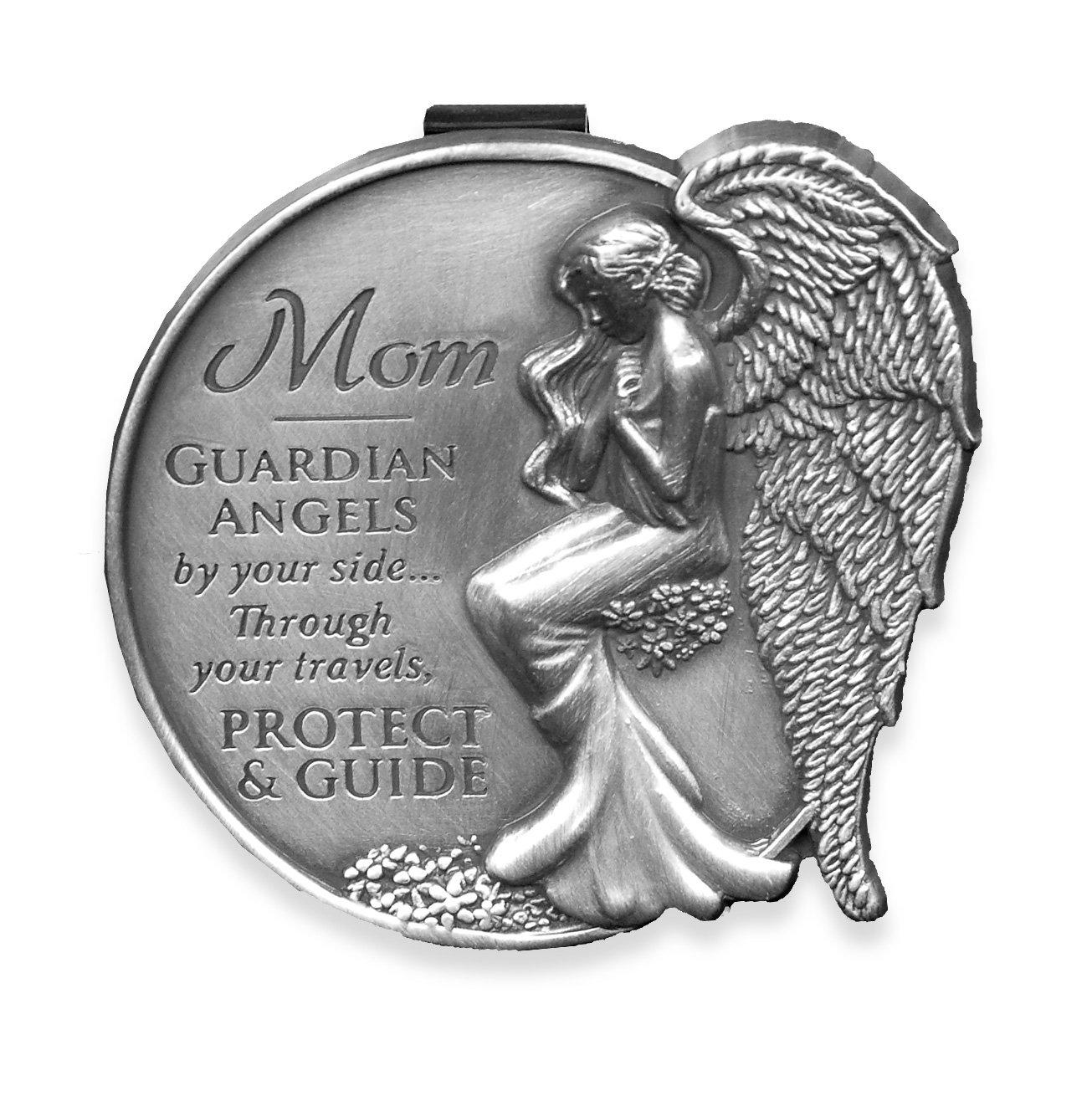 AngelStar 15729 Mom Guardian Angel Visor Clip Accent, 2-1/2-Inch