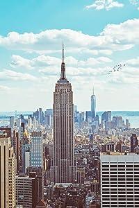 Empire State Building Midtown Manhattan New York City NYC Art Deco Skyscraper Photo Cool Wall Decor Art Print Poster 24x36