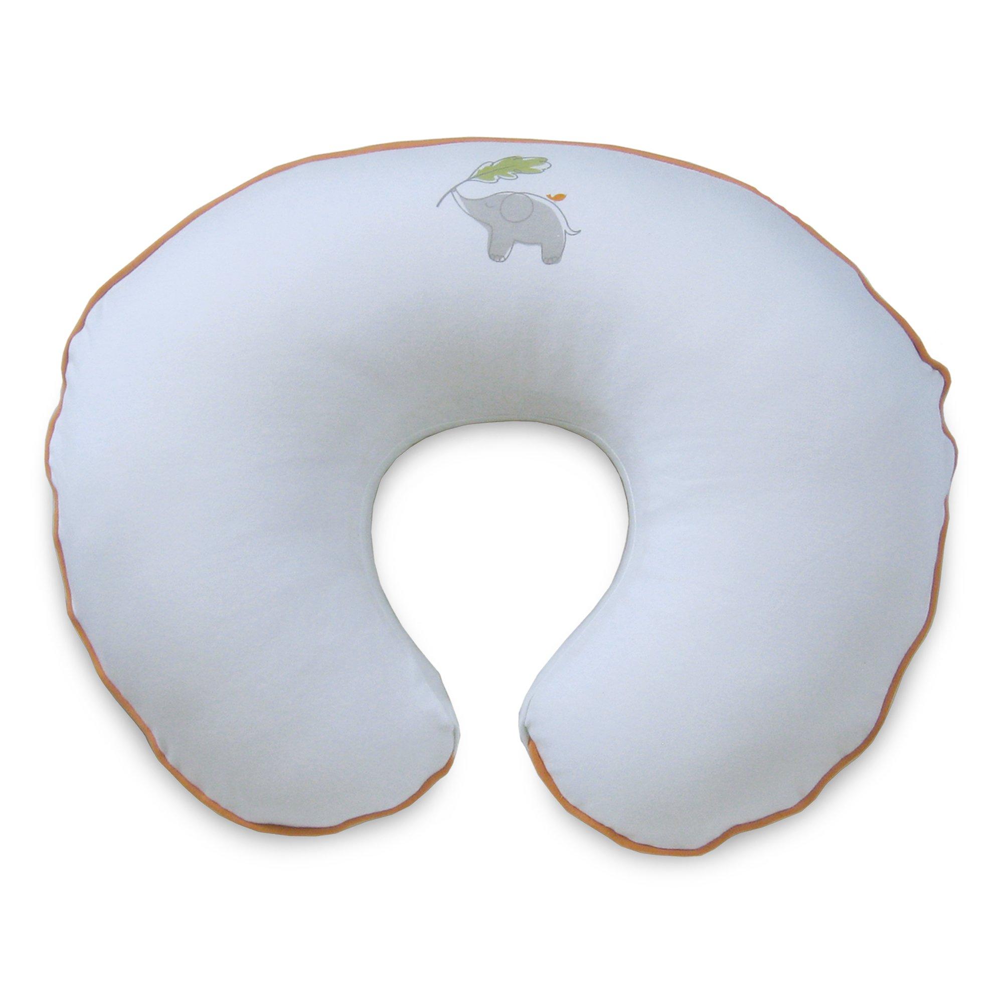 Amazon Com Boppy Pillow Slipcover Gray Organic Little