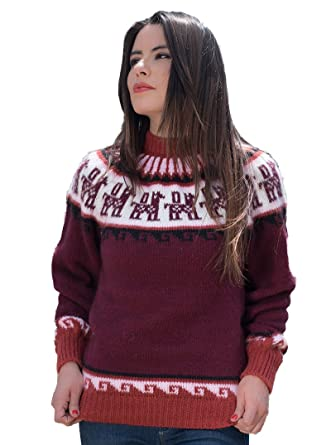 46b23bdef018 Amazon.com  Gamboa - Warm and Soft Alpaca Sweater for Women ...
