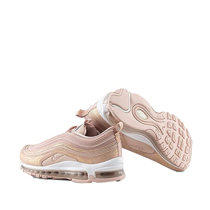 Nike Air Max 97 SE Sneaker (EU 38 UK 4.5, Particle Beige Red