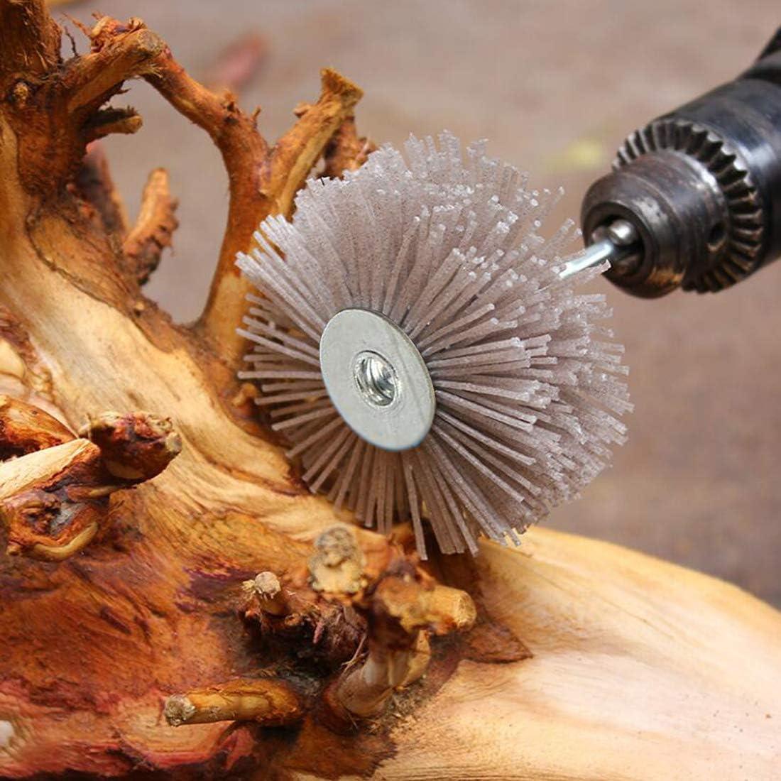 Details about  /2 PCS Abrasive Grinding Wheel Flower Head For Wood Furniture Polishing