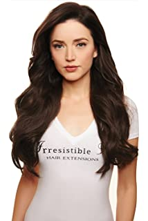 Amazon irresistible me clip in hair extensions chocolate irresistible me clip in hair extensions medium brown color 4 100 pmusecretfo Image collections