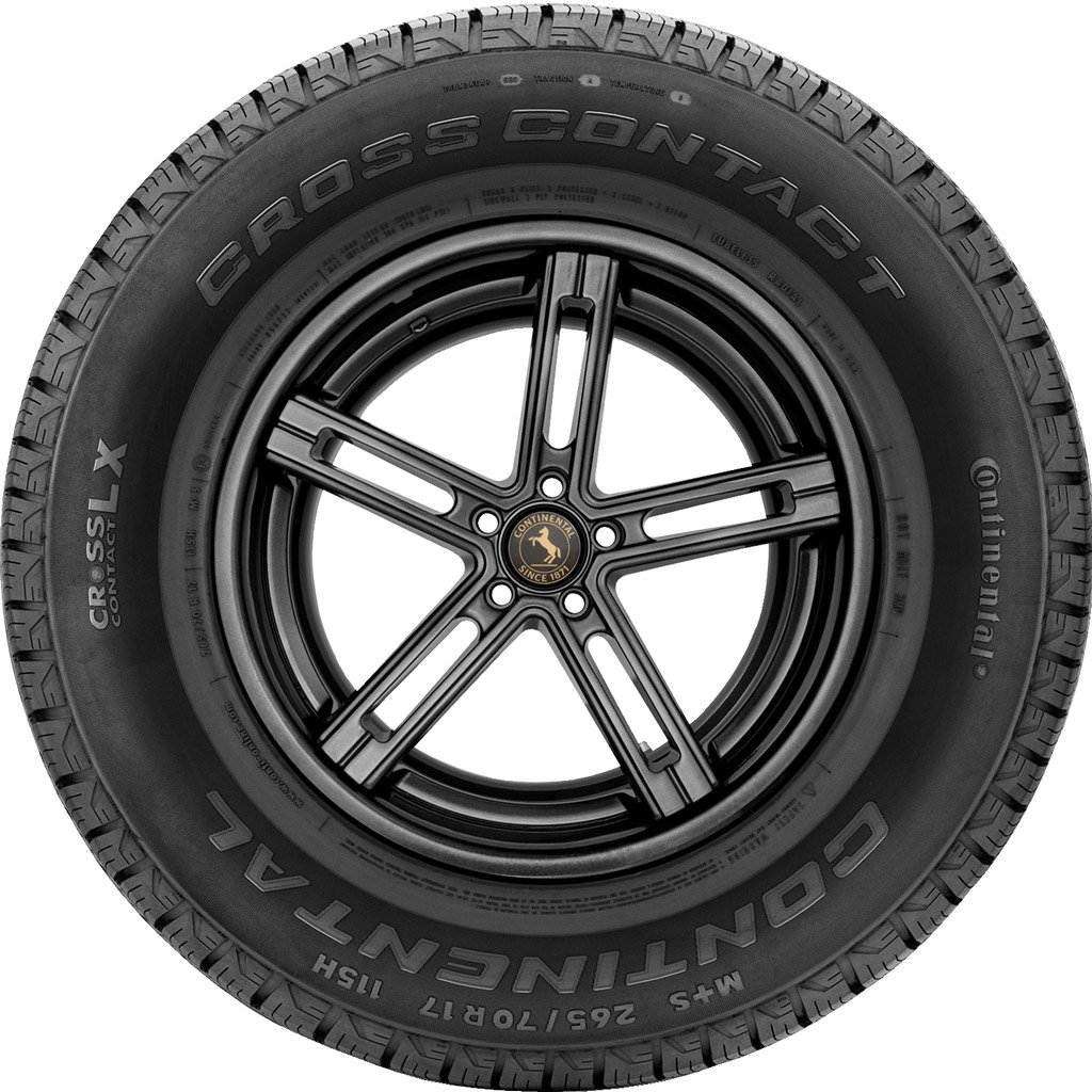 Continental CrossContact LX Radial Tire - 225/65R17 102H