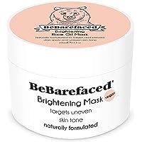 BeBarefaced Lysande ansiktsmask med riskliolja – anti-åldrande ansiktsbehandling för hyperpigmentering, ojämn hudton…