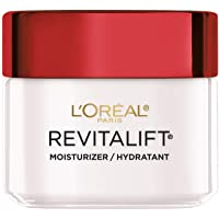 Face Moisturizer by L'Oreal Paris, Revitalift Anti-Aging Day Moisturizer with Pro-Retinol and Centella Asiatica, Paraben Free, Suitable for Sensitive Skin, 2.55 Oz.