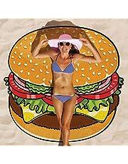 Baffect® Gasa y Poliéster 150 * 150 cm de la toalla de playa Beach Blanket